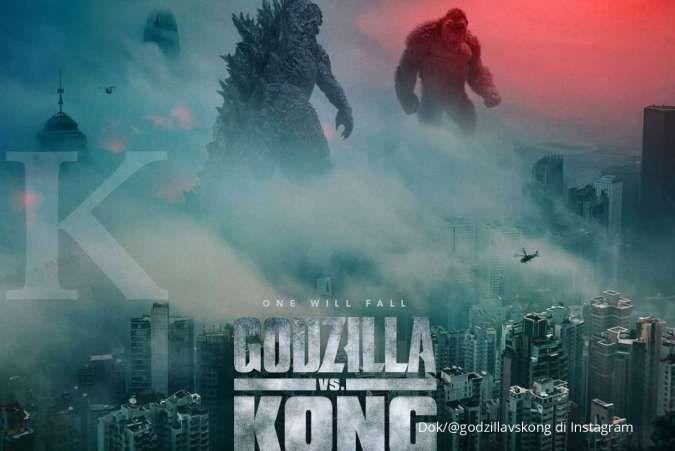 Film Godzilla vs Kong kalahkan rekor Zack Snyder's Justice League di HBO Max