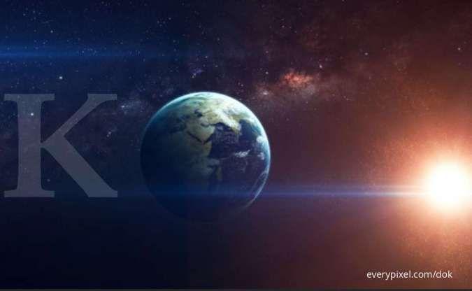 ILUSTRASI: Planet Bumi