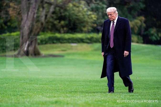 Positif corona, Donald Trump: Hari berikutnya jadi ujian yang sesungguhnya