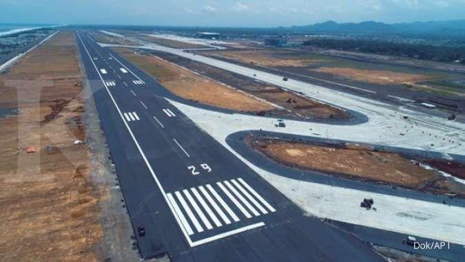 JK puji landasan pacu bandara YIA yang membuat pesawat mendarat mulus