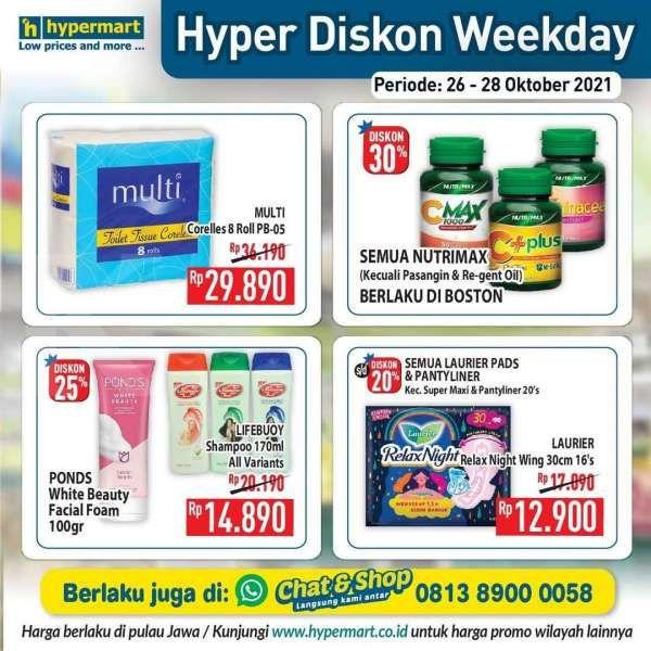 Promo Hypermart diskon weekday
