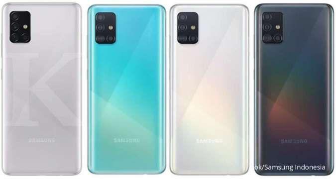 Makin terjangkau, harga HP Samsung A51 dengan RAM 8GB hanya Rp 4 jutaan