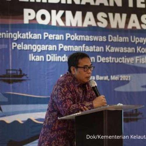 Perkuat Pengawasan Kawasan Konservasi, KKP Lakukan Pembinaan Teknis 250 Anggota POKMASWAS di NTB
