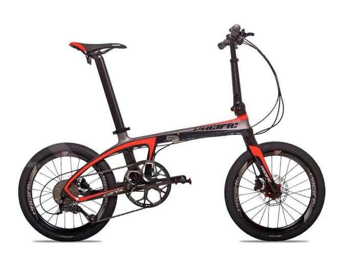 Handal dan modern! Harga sepeda lipat Pacific Illution bikin kantong bolong