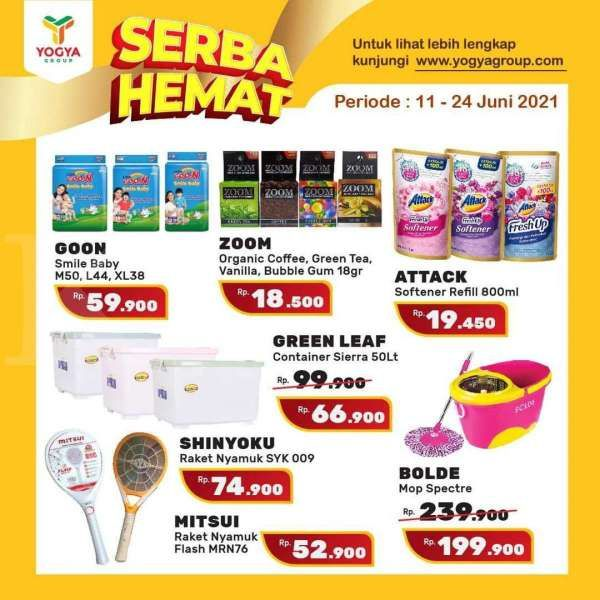 Promo Yogya Supermarket 11-24 Juni 2021