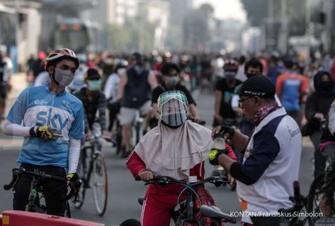 Kenali risiko penularan sebelum olahraga di luar saat pandemi corona