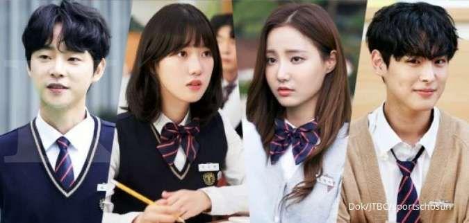 Para pemeran pendukung dalam drama Korea terbaru Live On di JTBC.
