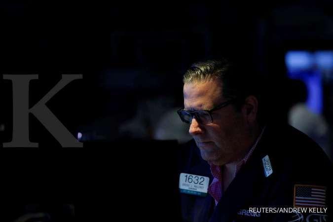 Tiga indeks utama Wall Street menghijau di awal perdagangan Senin (2/8)