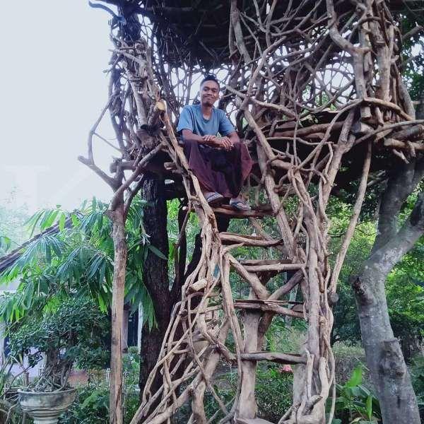 Seru! Wisatawan bisa mengunjungi rumah Jawa primitif di Omah Pang