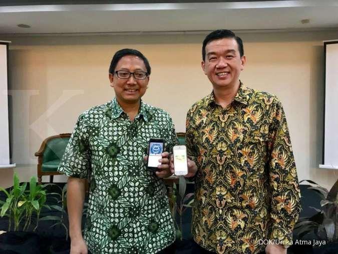 Unika Atma Jaya luncurkan aplikasi belajar Gnowbe
