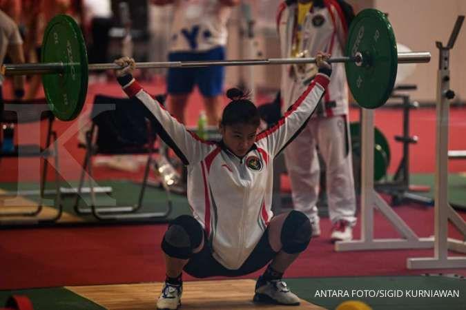 Windy Cantika Aisyah sumbang medali perunggu lewat cabang olahraga angkat besi