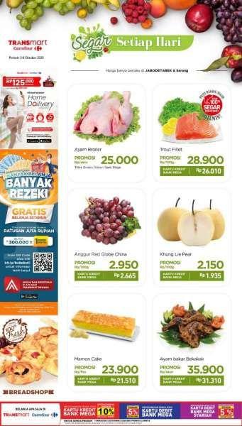 Promo Transmart Carrefour Periode 2 6 Oktober 2020 Baru Mulai