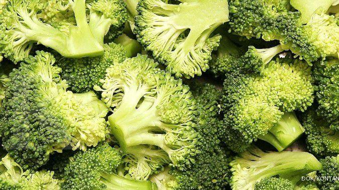Brokoli adalah salah satu contoh makanan rendah kalori yang bisa Anda coba.