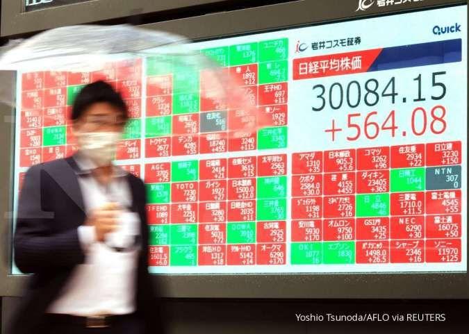 Bursa Asia bergerak bervariasi hari ini (15/6), simak pemicunya
