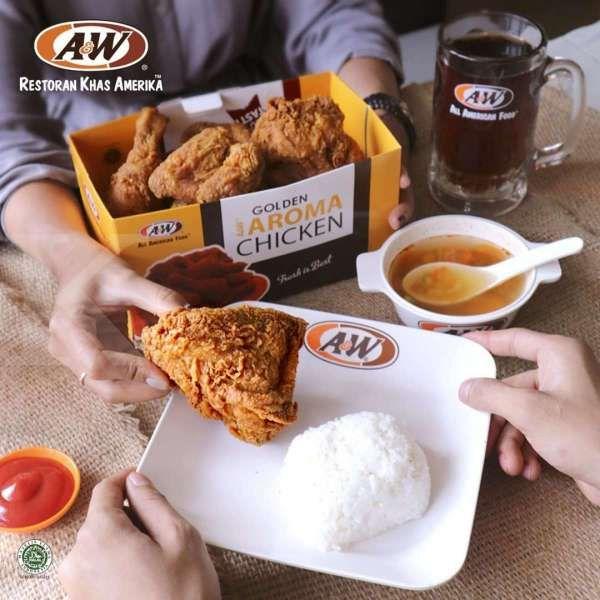 Makan hemat! Promo A&W 7 April 2021 harga mulai Rp 29.500
