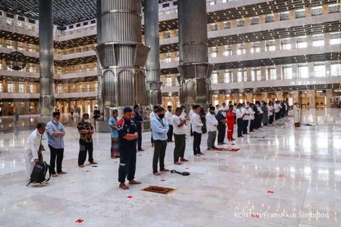 Selesai direnovasi, Masjid Istiqlal bisa digunakan shalat Idul Adha
