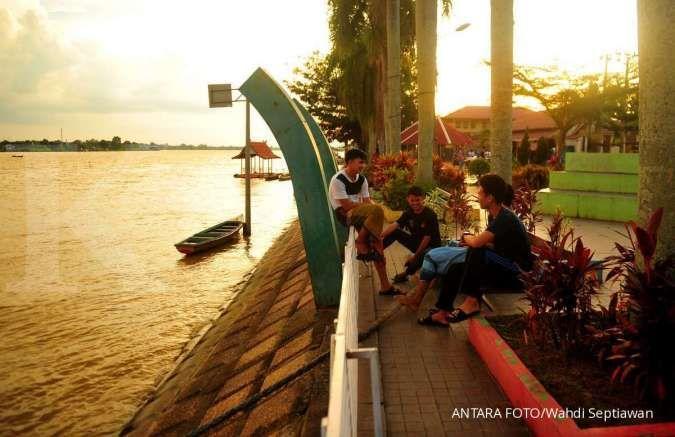 Antisipasi erosi sungai Batanghari, Kementerian PUPR bangun rumah khusus di jambi