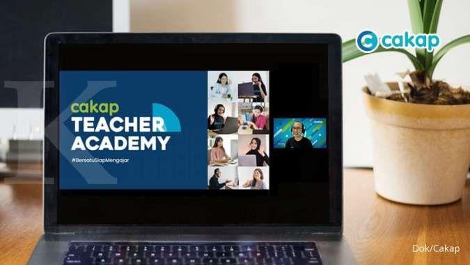 Platform pembelajaran online Cakap, resmi luncurkan program Cakap Teacher Academy