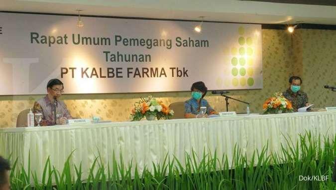 Cetak kinerja positif, Kalbe Farma (KLBF) revisi proyeksi pertumbuhan tahun 2021