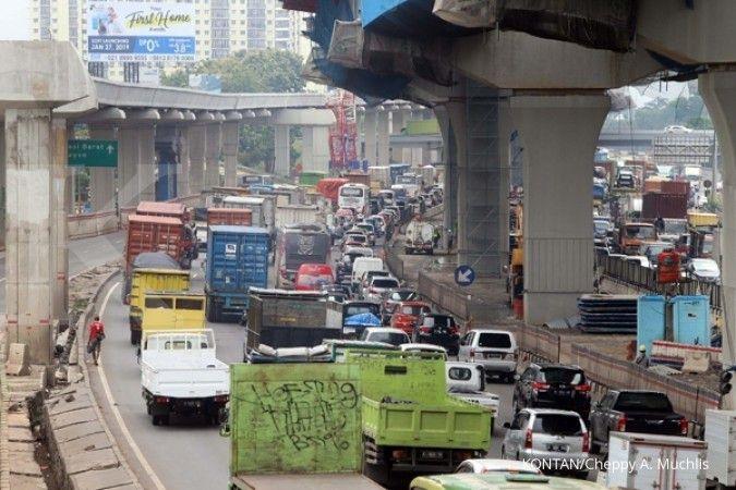 Ada enam titik rawan macet di jalan tol, Kemhub batasi kendaraan barang saat mudik