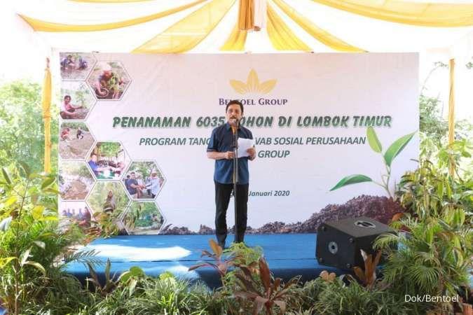 Dorong kelestarian lingkungan, Bentoel Group tanam 6.035 pohon di NTB