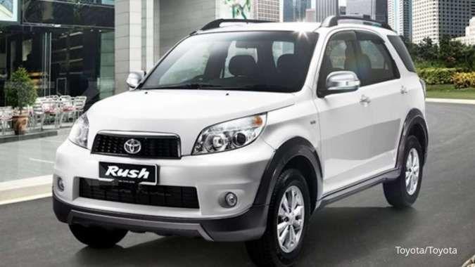 Harga mobil bekas Toyota Rush Gen 2