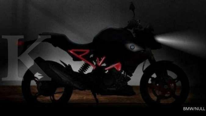 Kabar gembira bagi penggemar BMW Motorrad, intip teaser motor teranyar seri 310