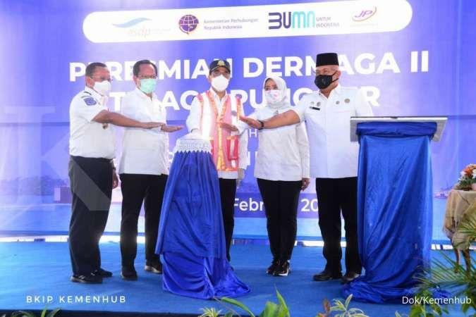 Menhub Budi Karya resmikan Dermaga II Telaga Punggur senilai Rp 60 miliar