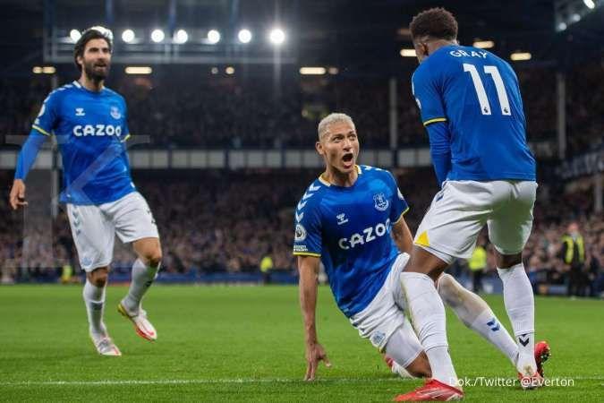 Hasil Liga Inggris Everton vs Burnley: The Toffees bungkam The Clarets 3-1