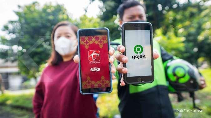 Wah, Telkomsel kembali suntik Gojek Rp 4,4 triliun