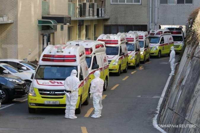 Jumlah kasus virus corona di Korea Selatan melonjak signifikan