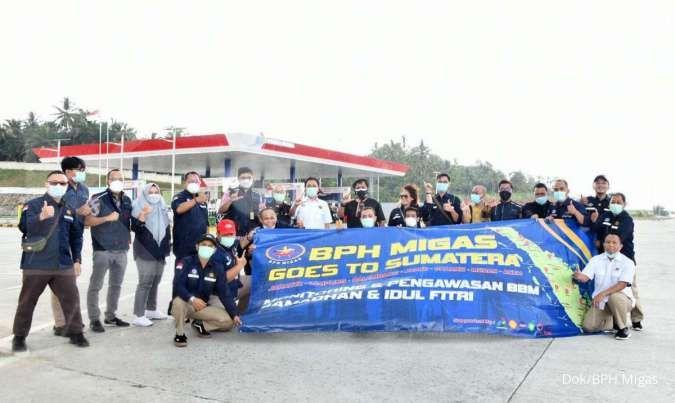 Kepala BPH Migas lakukan pengawasan posko BBM di Sumatera saat Ramadan dan Idul Fitri