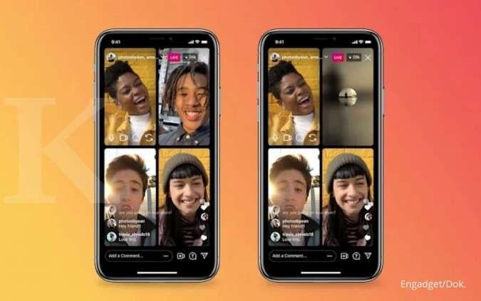 Fitur Instagram mirip Clubhouse, bisa live hanya dengan audio