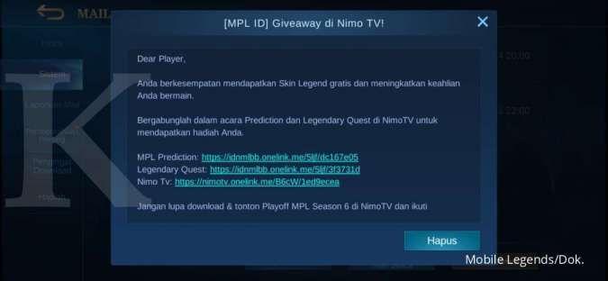 Event MPL ID Season 6 - Mobile Legends