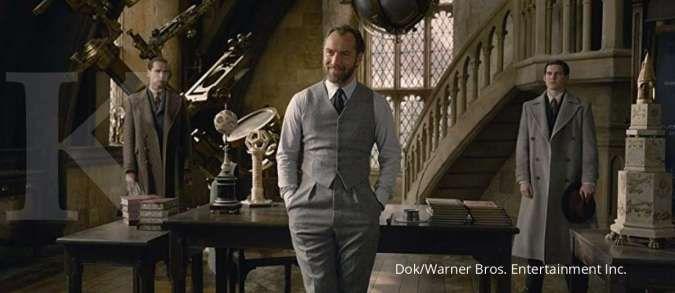 Albus Dumbledore (Jude Law) di Fantastic Beasts: The Crimes of Grindelwald