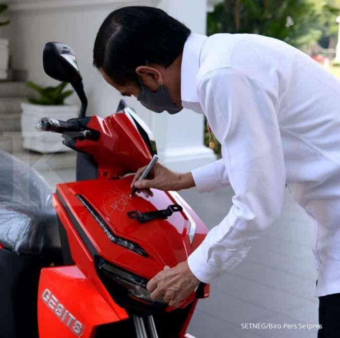 Lelang diulang, anak Harry Tanoe menang lelang motor Jokowi Rp 2,5 miliar