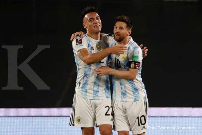 Argentina vs Uruguay di Kualifikasi Piala Dunia: Albiceleste bungkam La Celeste 3-0
