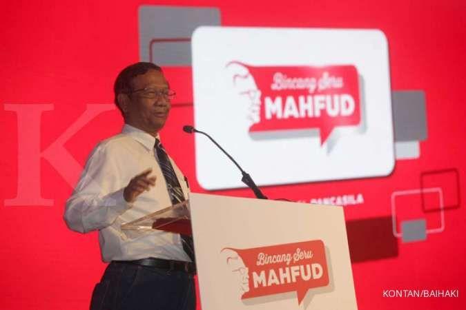 Detik-detik pengumuman kabinet, Mahfud MD: Saya nyatakan siap membantu negara