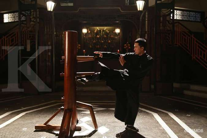 Aktor Donnie Yen dalam film Ip Man