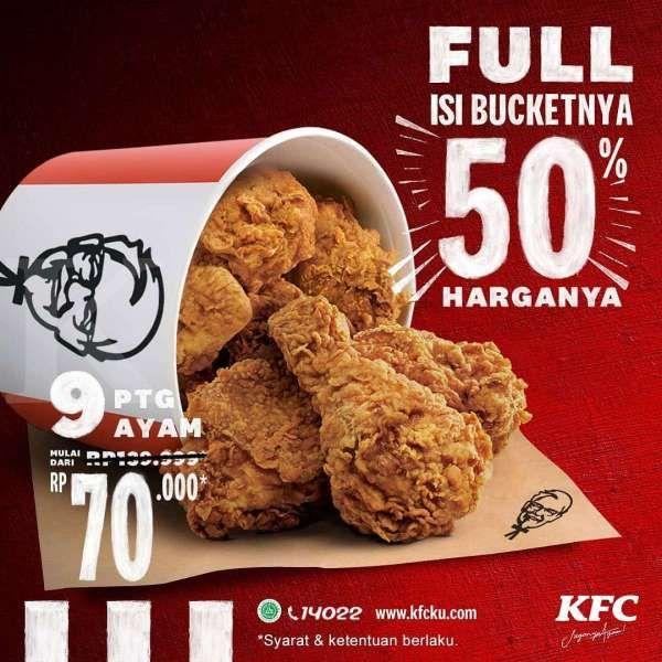 Promo KFC periode 9-11 November 2020