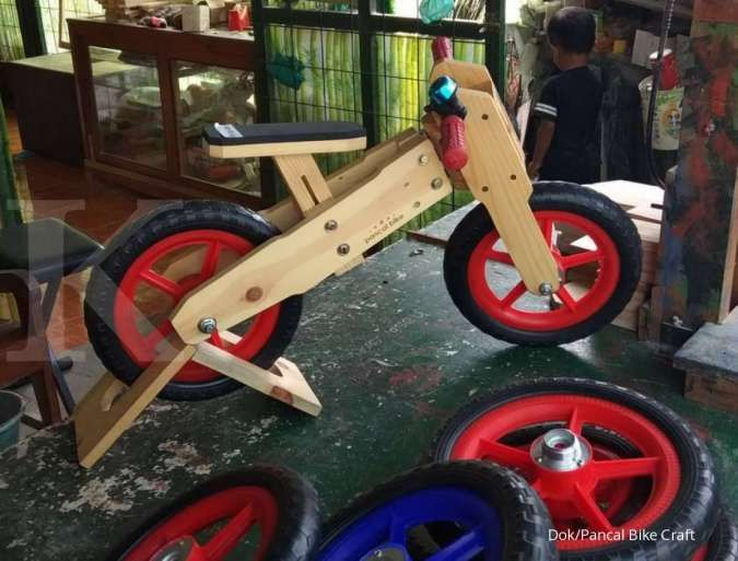 Kisah Pancal Bike Craft yang mendapat untung dari usaha push bike