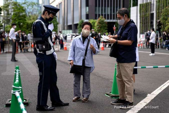 Lonjakan kasus positif covid-19 kembali terjadi di beberapa negara Asia