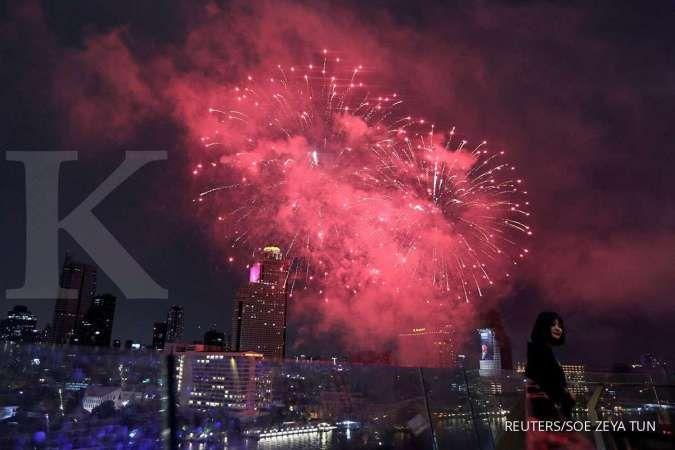Daftar daerah yang melarang perayaan tahun baru 2021
