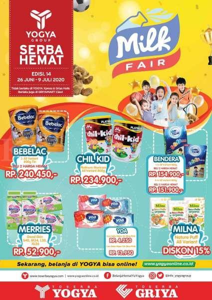Promo dan harga spesial kebutuhan anak di Yogya Supermarket, cuma sampai 9 Juli 2020