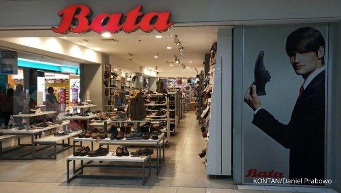 Gerai sepatu dan sandal BATA di JAKARTA -- KONTAN/DANIEL PRABOWO/23/08/2018