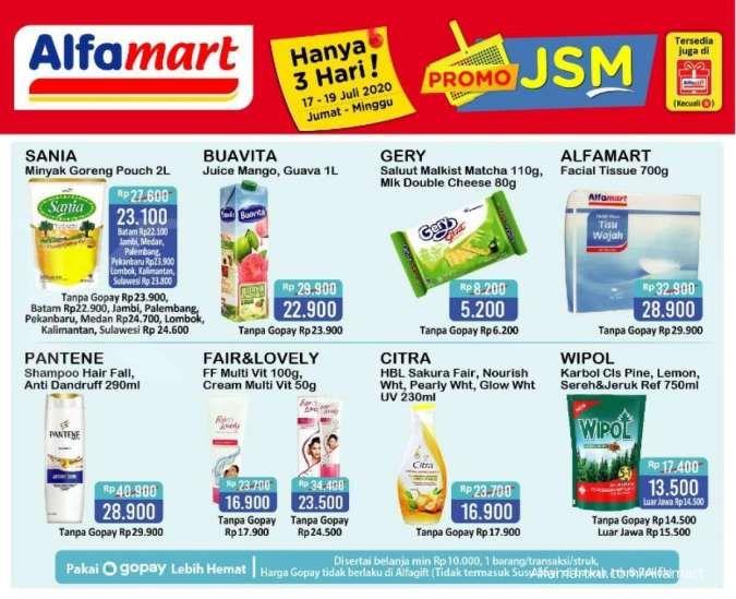 Promo Jsm Alfamart 17 19 Juli 2020 Diskonan Akhir Pekan