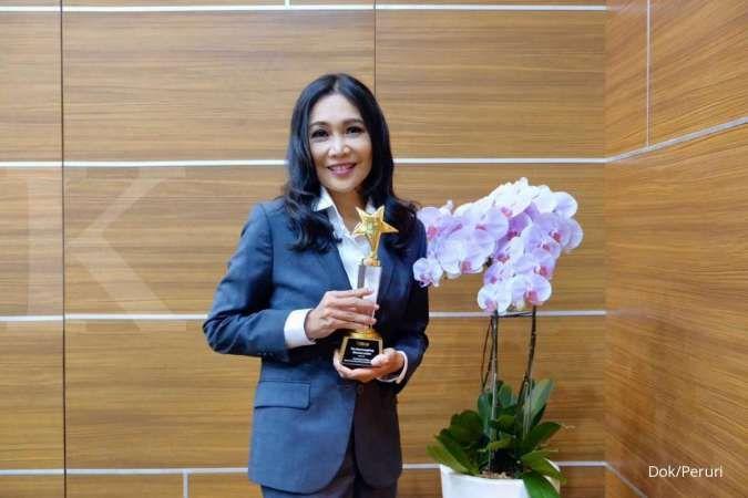 Dirut Peruri sabet penghargaan the most inspiring woman leader
