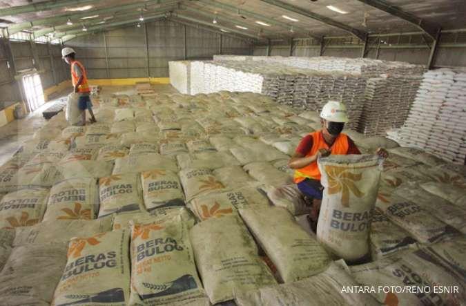Stok beras Bulog sudah mencapai 1 juta ton