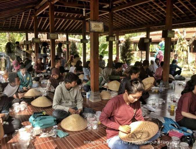 Kampung Flory Jogja punya konsep wisata edukasi, cocok untuk tujuan liburan keluarga