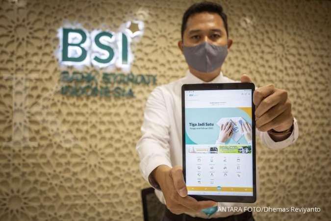 Laba bersih BSI (BRIS) melesat 34,3% pada semester I-2021